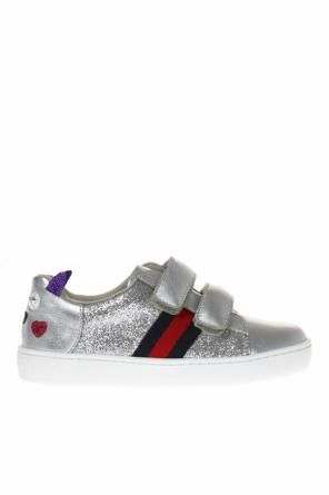 Glitter sneakers od Gucci Kids